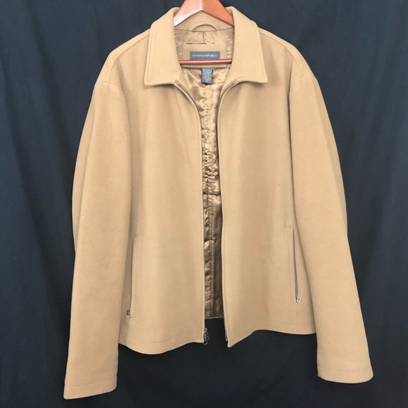 Banana Republic Jackets & Blazers - Banana Republic | Tan Dress Coat